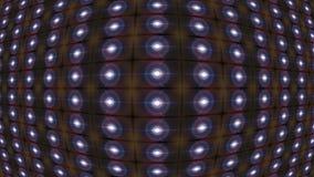 Cuerpo geom?trico abstracto del fondo en el centro almacen de metraje de vídeo