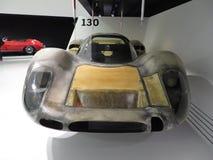 Cuerpo ligero del coche de competición de Porsche 908 24 horas de Le Mans Museo de Porsche Foto de archivo