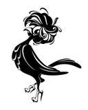 Cuervo lanudo Foto de archivo libre de regalías