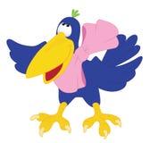 Cuervos con el arqueamiento Imagen de archivo libre de regalías