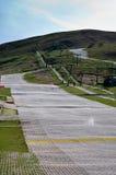 Cuesta artificial del esquí de Edimburgo, Escocia Fotos de archivo