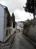 Cuesta de Chapiz-Street of the AlBAYZIN-Granada-Spain Stock Image