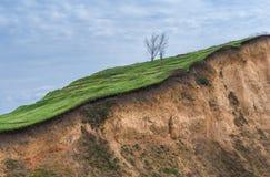 Cuesta de la colina Imagen de archivo libre de regalías