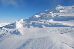 Cuesta de la nieve Imagenes de archivo