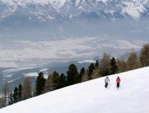 Cuesta de la nieve Imagen de archivo