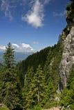 Cuesta de montaña Foto de archivo