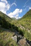Cuesta de montaña Fotografía de archivo libre de regalías