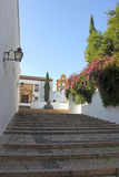 Cuesta del Bailio in Cordoba Royalty Free Stock Photos