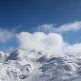 Cuesta del esquí Imágenes de archivo libres de regalías