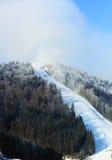 Cuesta del esquí Fotos de archivo