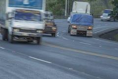 Cuesta del plomo up hill highway, Managua Royalty Free Stock Image