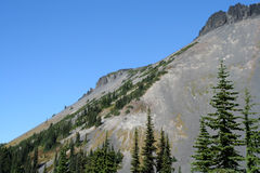 Cuesta del sudoeste de la montaña del anillo Fotos de archivo