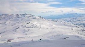 Cuestas nevosas de Dachstein-Krippenstein, Salzkammergut, Austria