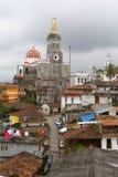 Cuetzalan-Stadt II stockfotografie