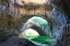 Cueva 2 de Devetashka Foto de archivo libre de regalías
