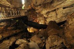 Cueva Foto de archivo libre de regalías
