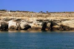 Cueva Aiya Napa, Chipre del pirata Foto de archivo