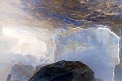 Cueva azul mágica Fotos de archivo