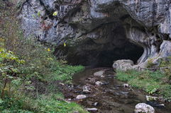 Cueva Bolii foto de archivo libre de regalías