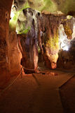 Cueva Calaveres en Benidoleig en España Fotografía de archivo libre de regalías