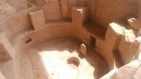 Cueva Cortez de pueblo de verde de MESA images libres de droits