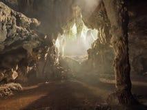 Cueva de Ambrosio en Cuba Fotografía de archivo libre de regalías