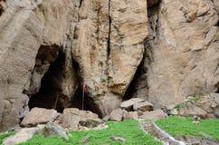Cueva de Areni en Armenia en donde el lagar conocido más temprano fue encontrado fotografía de archivo