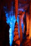 Cueva de Avshalom, Israel Imagen de archivo