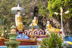 Cueva de Bayin Nyi en Hpa-An, Myanmar foto de archivo libre de regalías
