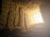 Cueva de Bell situada en Beit Govrin, Israel imagen de archivo libre de regalías