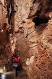 Cueva de Budapest Palvolgyi Foto de archivo libre de regalías