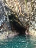 Cueva de Cornualles fotografía de archivo libre de regalías