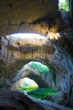 Cueva de Devetashka Fotografía de archivo libre de regalías