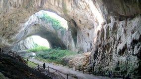 Cueva de Devetashka imagen de archivo libre de regalías