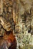 Cueva de Dikteon Lugar del nacimiento de Zeus crete Grecia Fotos de archivo