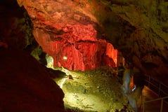 Cueva de Emine-bair-hosar (mamut) Imágenes de archivo libres de regalías