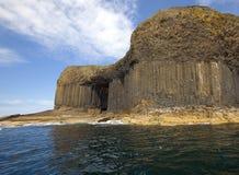 Cueva de Fingal Imágenes de archivo libres de regalías