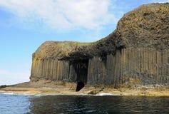 Cueva de Fingal Fotos de archivo libres de regalías