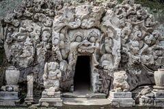 Cueva de Goa Gajah Foto de archivo libre de regalías