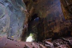 Cueva de Gomantong, abah imagen de archivo