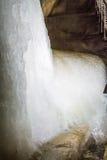 Cueva de hielo de Dobsinska Fotos de archivo