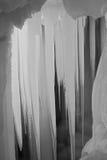 Cueva de hielo de los diez milésimos Imagen de archivo libre de regalías