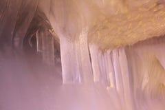 Cueva de hielo de los diez milésimos Fotografía de archivo libre de regalías