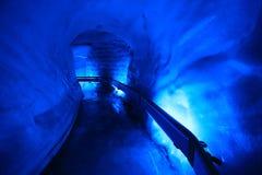 Cueva de hielo en el soporte Titlis Imágenes de archivo libres de regalías