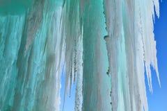 Cueva de hielo magnífica de la isla Fotos de archivo libres de regalías