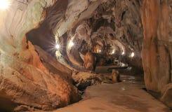 Cueva de Jung en el vieng del vang, Laos Imágenes de archivo libres de regalías