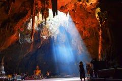 Cueva de Khao Luang Imagen de archivo