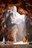 Cueva de Khao Luang en Petchaburi, Tailandia. Foto de archivo