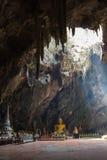 Cueva de Khao Luang en Phetchaburi, Tailandia Imagen de archivo libre de regalías