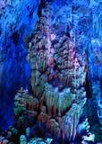 Cueva de lámina de la flauta fotografía de archivo libre de regalías